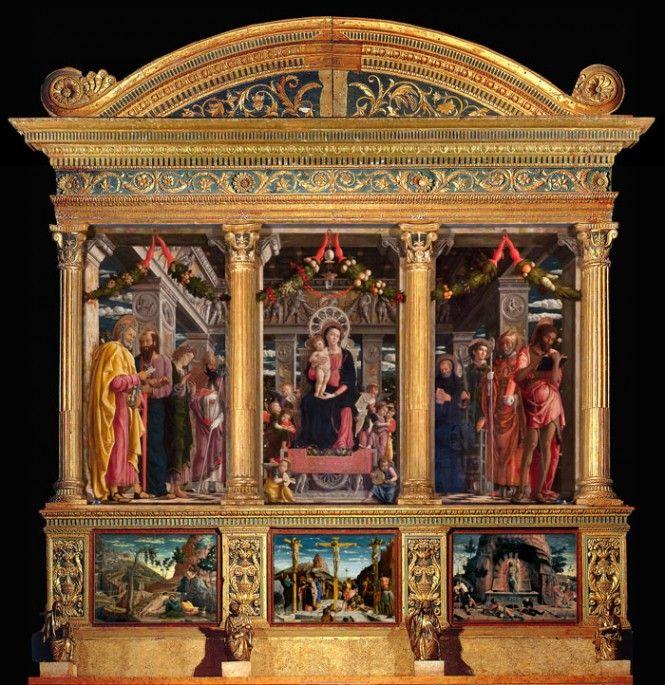 ANDREA MANTEGNA, pala di san Zeno, Verona