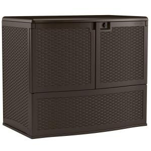 Suncast, Backyard Oasis 195 gal. Vertical Deck Box, VDB19500 at The Home Depot - Mobile