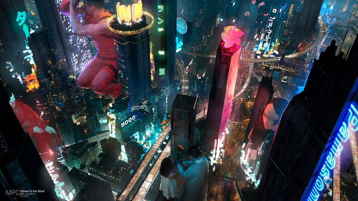 Photography Inspiration Ghost In The Shell Movie Heydesign Com Ghost In The Shell Concept Art World Concept Art