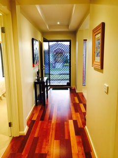 Looking down the Hallway to the front door
