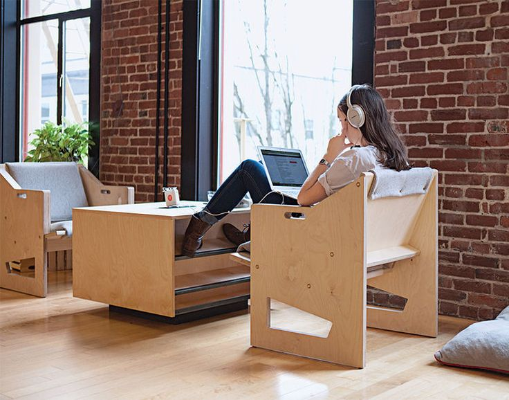 Finally, Office Furniture For The Laptop Workforce.