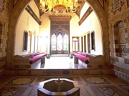 Beiteddine palace lebanon lebanon pinterest lebanon for A treasury of persian cuisine