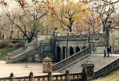 Bethesda Terrace, Central Park, New York