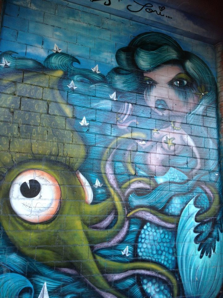 120 best images about graffiti on pinterest murals mermaids and venice beach california. Black Bedroom Furniture Sets. Home Design Ideas