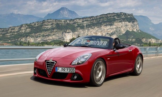 Turbo-licious: New Alfa Romeo Spider to Receive a Fiat 1.4-Liter Turbo Four