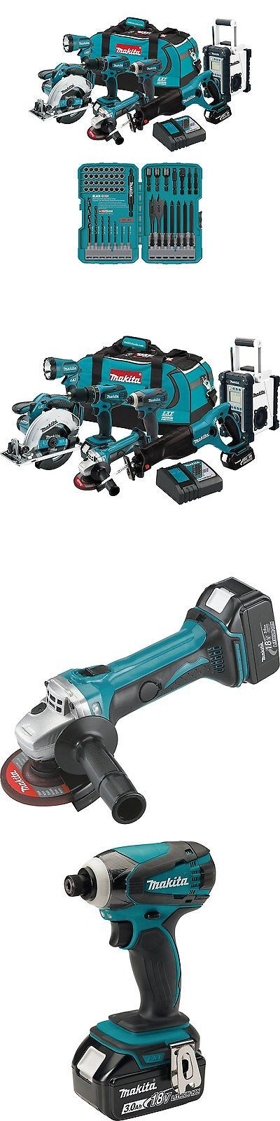 Drill Bits 50382: Makita 18V Lxt Lithium Ion 7 Pc. Combo Tool Kit W 3.0 Ah Batteries + Bit Set -> BUY IT NOW ONLY: $635.99 on eBay!