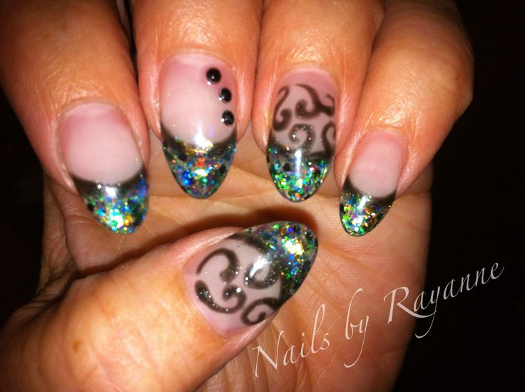 LCN sculptured nails
