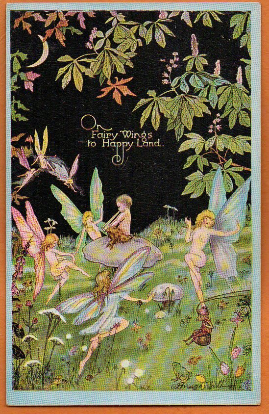 Alice MARSHALL - Centaur Pixie w Dancing FAIRIES