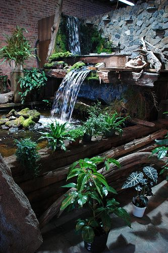 Love this waterfall. It can be narrowed and still give a nice effect.