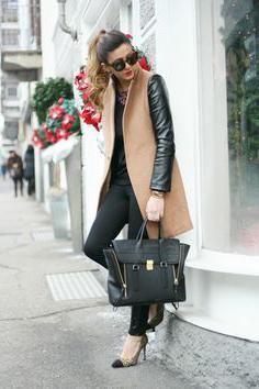 пальто без рукавов, с чем носить