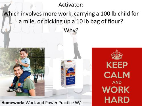 Introduction To Work And Power With Examples And Practice Problems