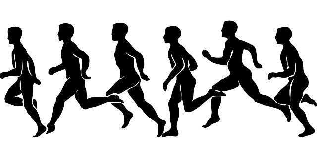 Runner Silhouette | People, Man, Runner, Silhouette, Person, Cartoon