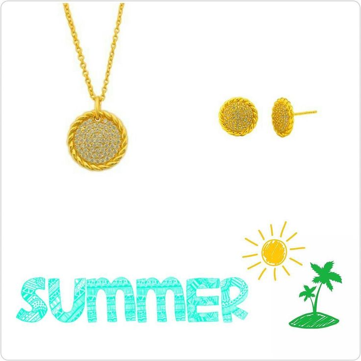 Enjoy the Summer  Juego de cadena y aretes en plata 925 con un baño de oro 18k  Para más info contactanos : 809 853 3250 / 809 405 5555 Aceptamos tarjetas de crédito a través de Pay Pal  Delivery  Envoltura disponible   #newarrivals #available #chain #zircone #gold #silver925 #earring #elegance #summer #love #chic #glam #jewerly #accesories #available #newcollection #trendy #gorgeous #unique #fancy #byou #becomplete #complementosjewelry #complementosrd
