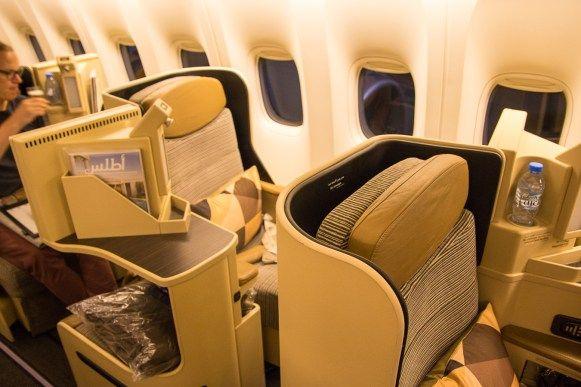 Etihad Business Class Boeing 777-300ER