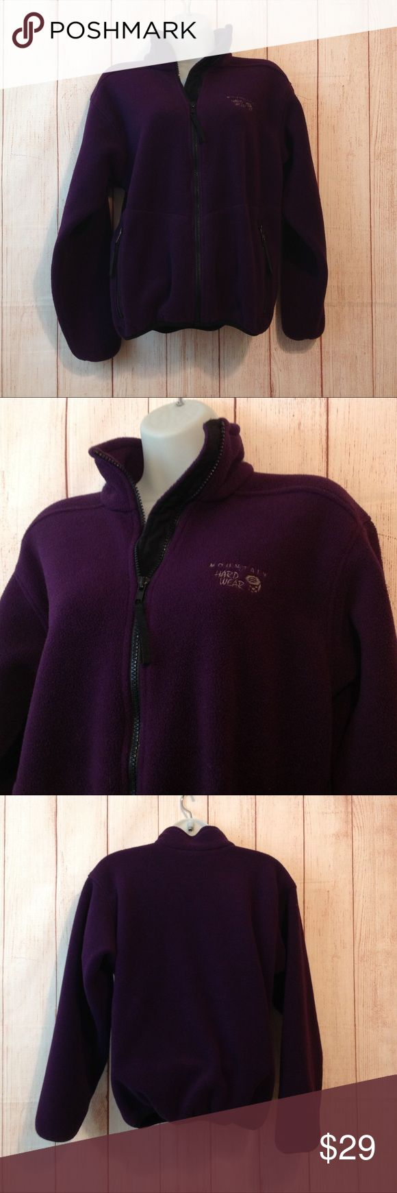 "Mountain Hardwear Fleece Jacket Maker: Mountain Hardwear ♥ Material: Polyester ♥ Color: Purple ♥ Measured Size: Pit to pit- 22"" Pit to cuff- 19"" Shoulder to waist- 23""  ♥ Tag Size:  XS ♥ PLEASE CHECK YOUR ACTUAL MEASUREMENTS TO MAKE SURE IT IS THE RIGHT SIZE! THANKS!  ♥ Condition: Deep Purple ♥ Item #: (office use only) A Mountain Hardwear Jackets & Coats"