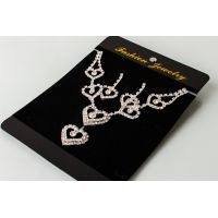 Heart Necklace and Earing - £5.99 - In Stock