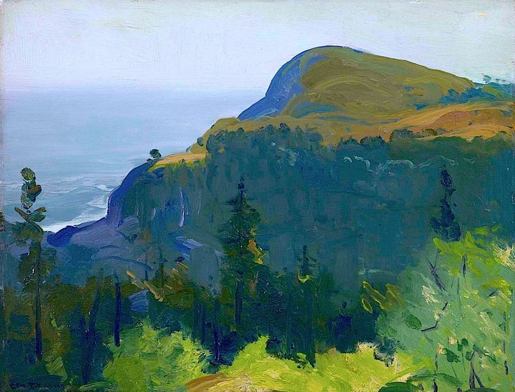 GEORGE WESLEY BELLOWS - Hill and Valley (1913)