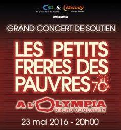"""Julie sera à l'Olympia de Paris pour le Grand concert de soutien """"Les petits frères des pauvres"""" le 23 Mai 2016 ! Pour réserver -> http://www.olympiahall.com/variete-francaise-disco/les-petits-freres-des-pauvres-a-l-olympia.html"""