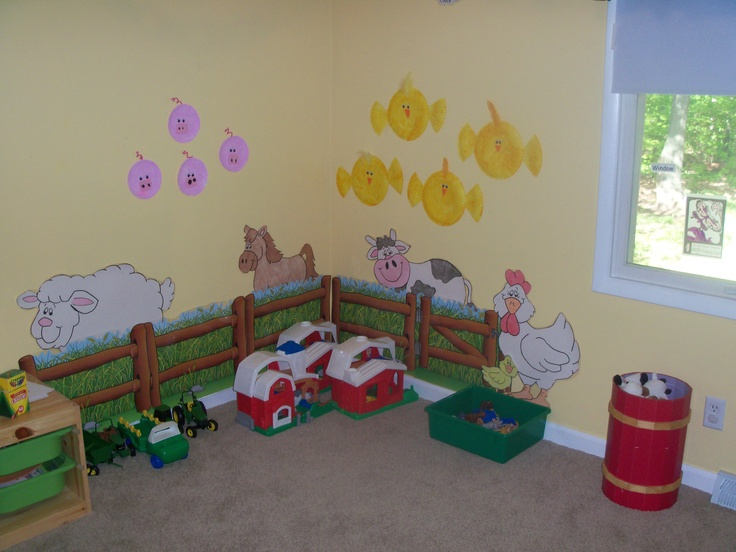 Preschool Down on the Farm Theme would go great with my giant barn