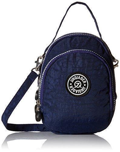 Oferta: 14.54€. Comprar Ofertas de tianhengyi Nylon resistente de agua pequeño bolso bandolera bolso de mano Monedero de tres capas bolsa de teléfono celular pa barato. ¡Mira las ofertas!