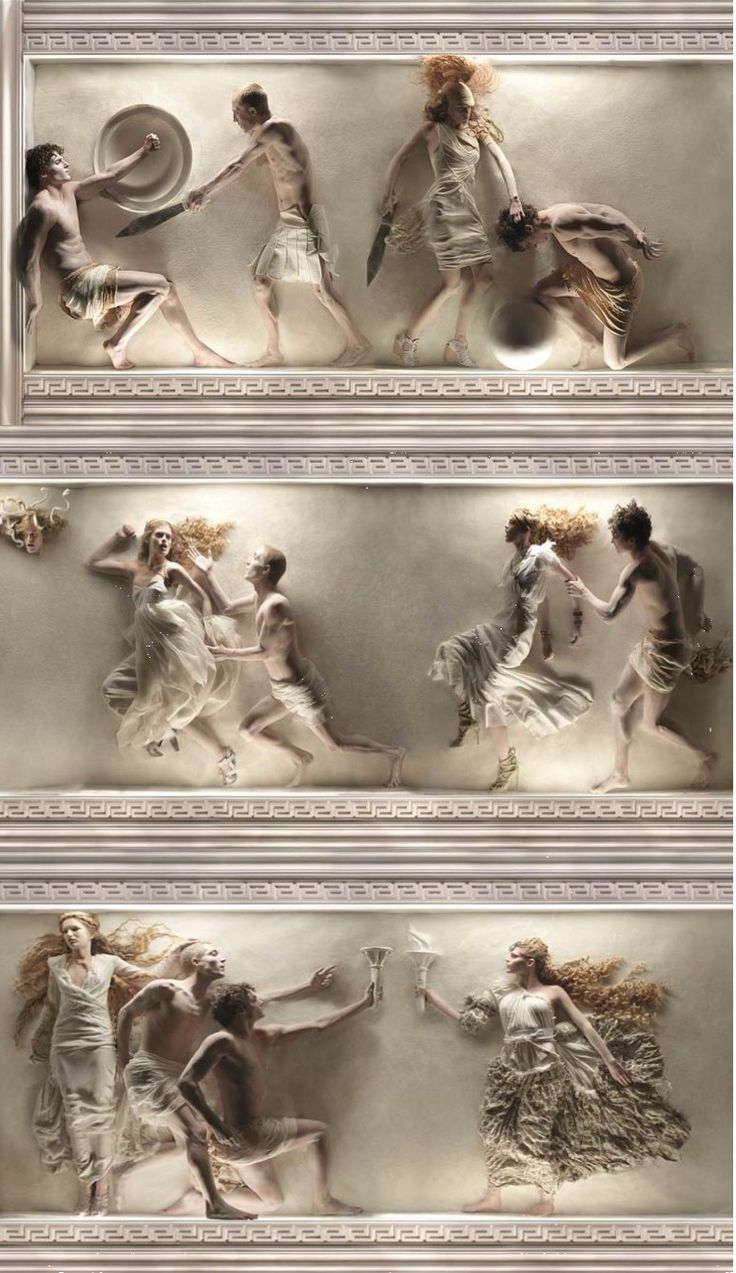 eugenio recuenco/ Not fairy tale, myth but  I still feel it belongs on this board.