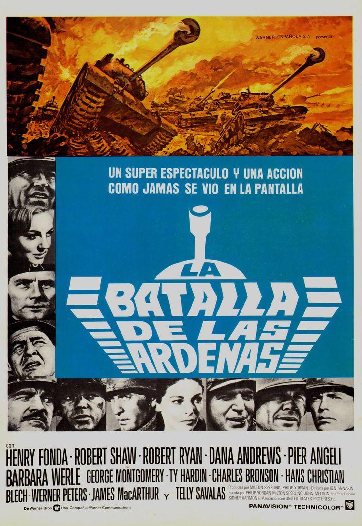 1965 - La Batalla de Las Ardenas - Battle of the Bulge - tt0058947