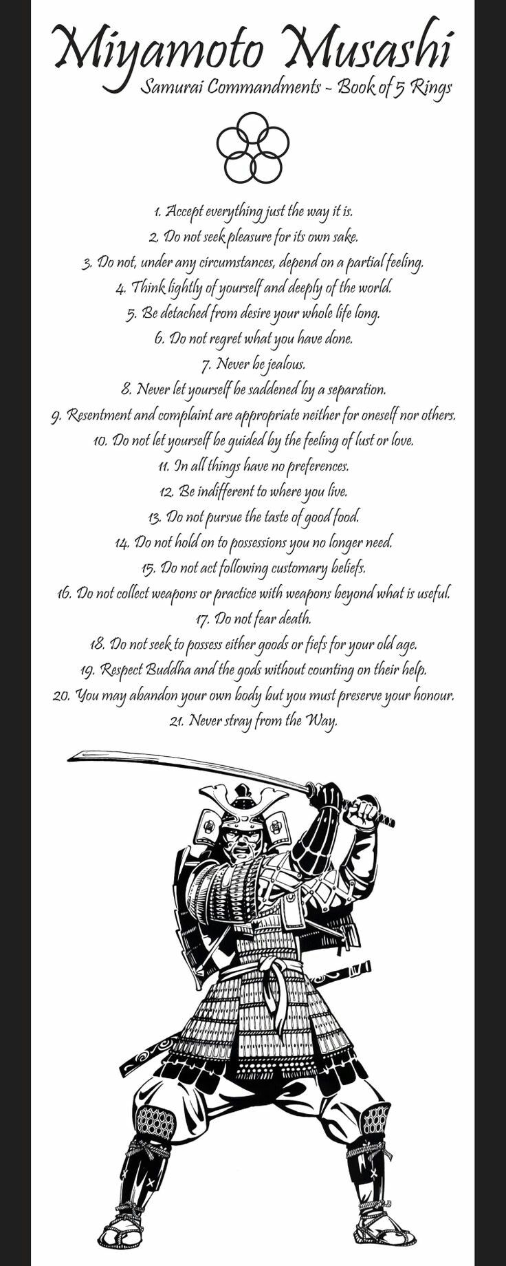 Ninja Commandments