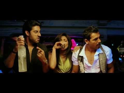 Song: Jaane Kyun  Movie: Dostana (2008)  Singer: Vishal Dadlani  Performance: John Abraham, Abhishek Bachchan, Priyanka Chopra