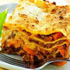 Crockpot Lasagna - Most people don't associate lasagna and healthy eating together, but that's exactly what you get with this dynamic dish. A meat and cheese lover's dream, use your noodle and enjoy this slow-cooked staple that's sure to become your go-to dish when you have a hankering for something Italian.