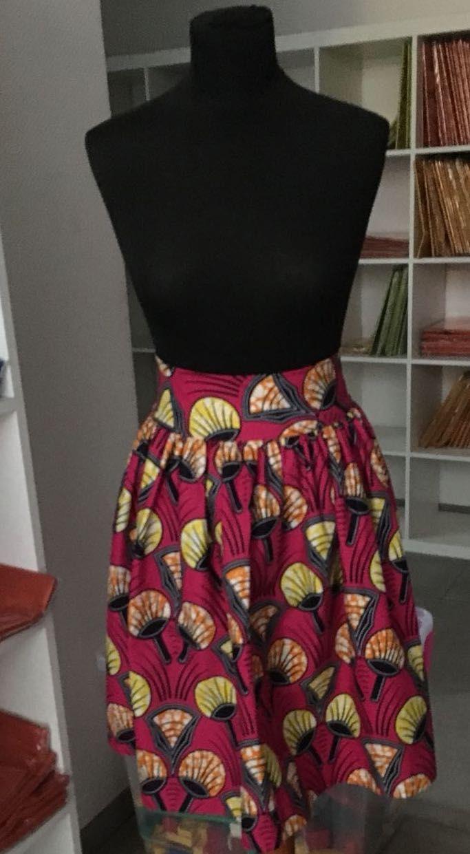 Kleid Aus Afrikanischem Wax Print Stoff Pink Dream Ideen Zum