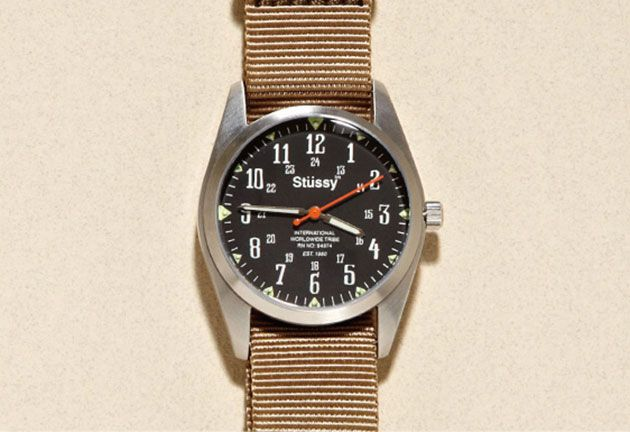 "Stussy ""Oran"" Vintage Military Watch"