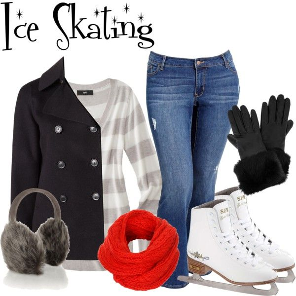 Ice Skating Outfit Idea