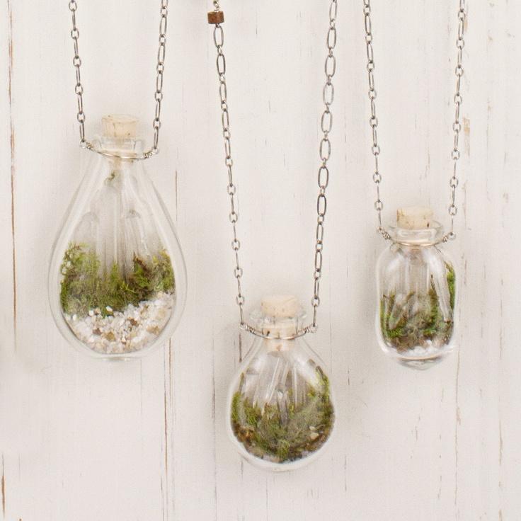 Terrarium Necklace Adorn Jewelry Sarah Lewis Love It Must