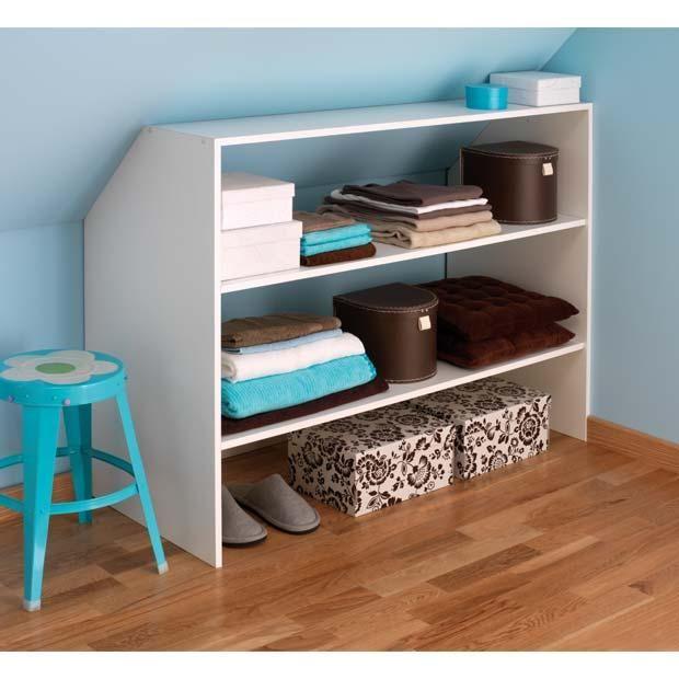 les 25 meilleures id es de la cat gorie rangement sous pente sur pinterest amenagement sous. Black Bedroom Furniture Sets. Home Design Ideas
