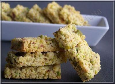 La Polpetta Perfetta: Sbrisolona salata ai pistacchi e parmigiano