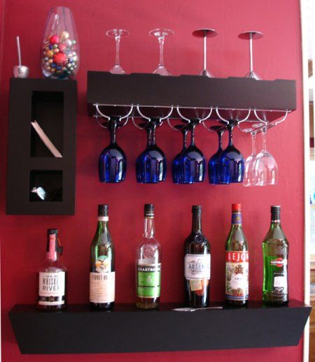A Great Use Of Space. Putting A Bar In A Small Area Is A Challenge