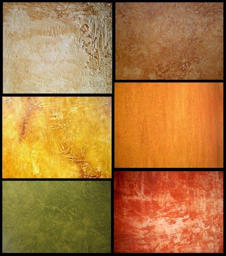 las tcnicas de pintura estructural da la oportunidad de elegir entre una variedad de texturas de