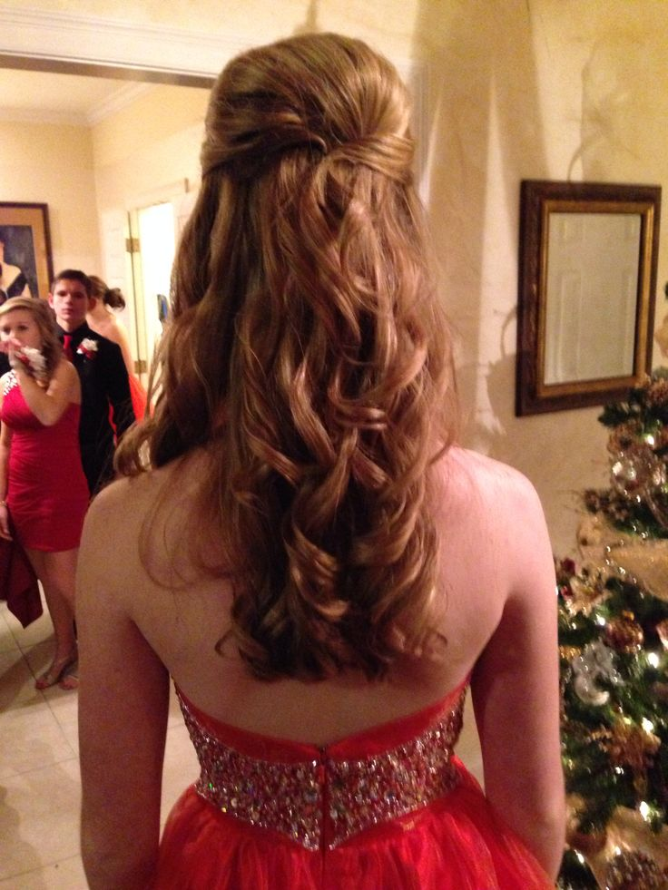 Awesome Prom Hair Loose Curls And Curls On Pinterest Short Hairstyles Gunalazisus