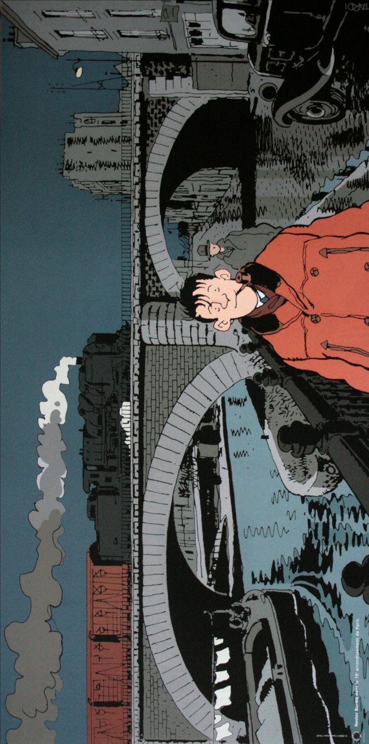 Jacques TARDI : Nestor Burma dans le 19e Arrondissement de Paris