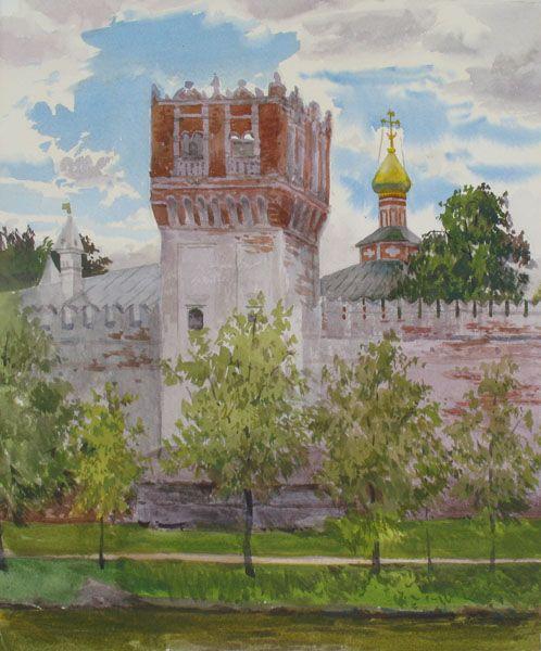 Виктория Кирьянова.Башня Новодевичьего монастыря