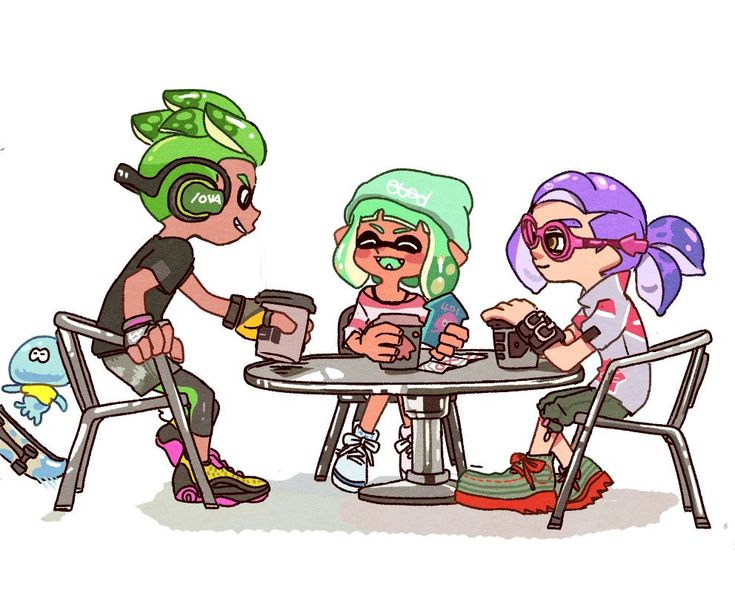 Image result for splatoon fan art