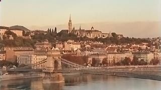 Watch via earthTV web camera in the Hungarian capital the Danube river, Europes second-longest river, and the historic Chain Bridge, that spans River Danube between Buda and Pest, the western and eastern parts of Budapest. The live cam oversees the Buda side with beautiful Buda Castle, which is part of the Budapest World Heritage Site.