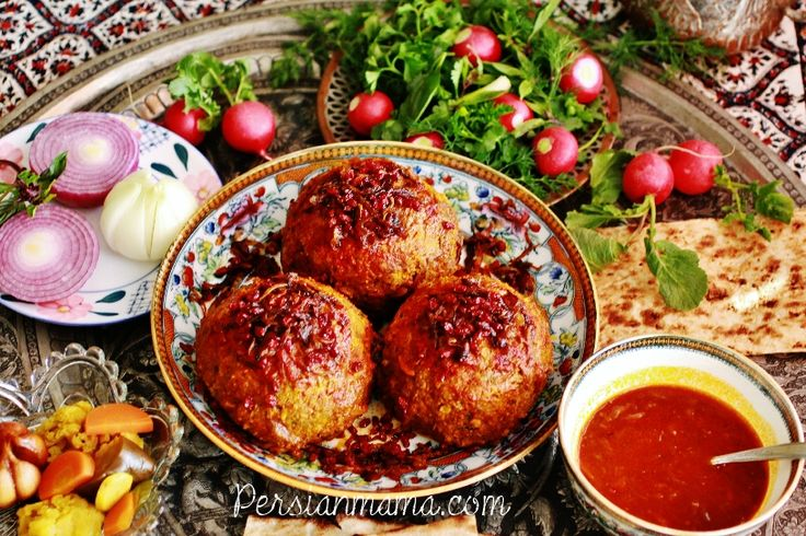 Koofteh (Kufteh) Tabrizi is very famous in Iran