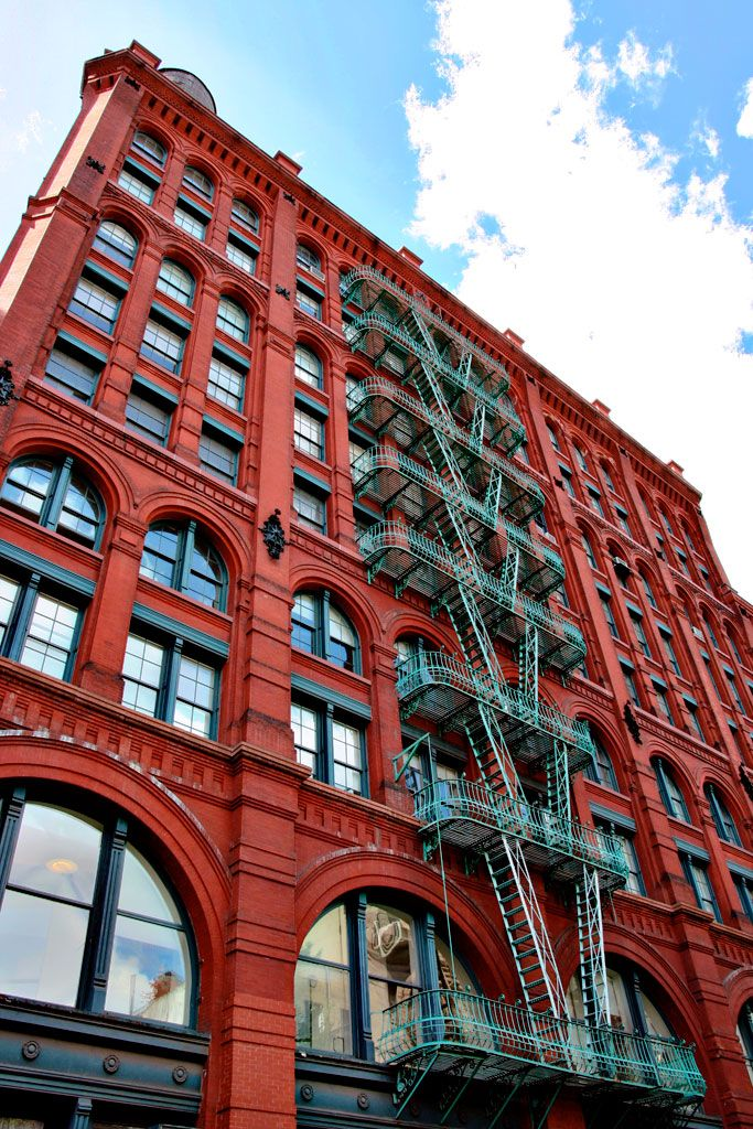 Oh them fire escape stairs, cant wait to see them in real life, outside of friends.