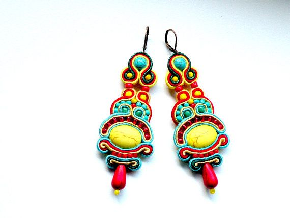 Earrings-soutache