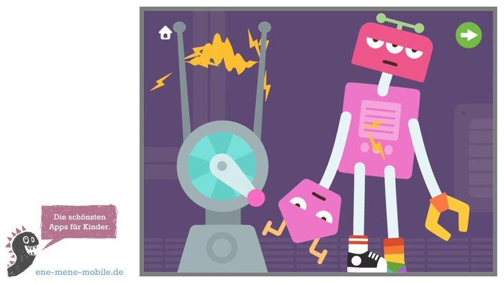 Schöne Spiele-App für Kleinkinder 🤖 Sago Mini Roboter Party 🤖 App-Vorsch...