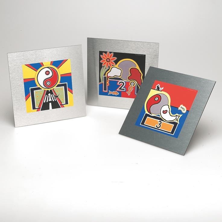 -Product: Painting -Material: Dibond aluminium -Thickness: 3 mm -Print: UV fullcolour + white