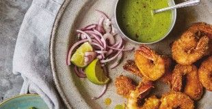 Maunika Gowardhan's prawns rawa fry (crumb-fried prawns with tamarind andchilli). Follow link for full recipe from appetite, North East England's dedicated food & drink publication.