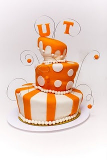 The perfect cake for your favorite VOL fan!