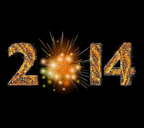 Happy new year 2014 cannot wait to start a new year!